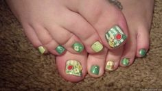 fruits toe nail art » Nail Designs & Nail Art