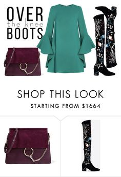 """Untitled #156"" by ivana-j ❤ liked on Polyvore featuring Chloé and Valentino"
