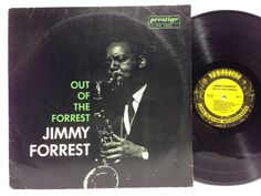 JIMMY FORREST - Out of the Forrest PRESTIGE 7202 LP Vinyl Record OJC-097