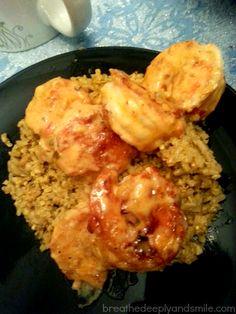 Bangin' Good Shrimp {from The Skinnytaste Cookbook}