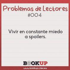Nunca estaremos a salvo. #problemasdelectores #bookupmx #spoiler