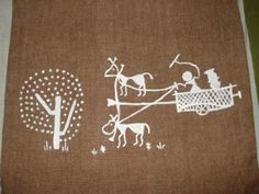 SAJAVAT: More of Warli art on cushions