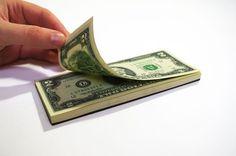 Esta libreta billete de un dólar es ciertamente acaparará la atención.