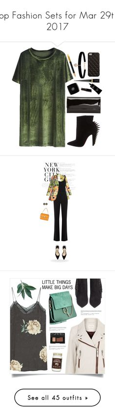 """""""Top Fashion Sets for Mar 29th, 2017"""" by polyvore ❤ liked on Polyvore featuring Christian Louboutin, 2Me Style, Betsey Johnson, Sugar Paper, H&M, Gucci, Eres, Altuzarra, Paul Andrew and Tom Ford"""