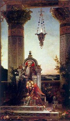 Gustave Moreau's King David.