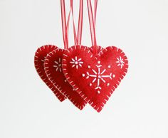 Wonderful addition to your Christmas decoration.  Christmas tree heart ornament will fill your house of holiday spirit.  Dimensione: 5 x 6 cm