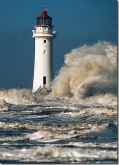 ✯ Perch Rock Lighthouse, New Brighton