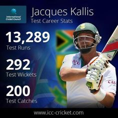 The best all rounder of all time: Jacques Kallis