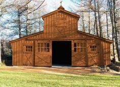 High Monitor Horse Barn by Waterloo Structures