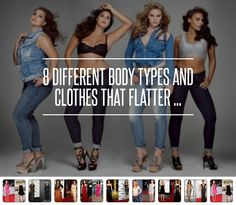 8 #Different Body Types and #Clothes That Flatter ... → #Fashion [ more at http://fashion.allwomenstalk.com ]  #Particular #Google #Bell #Area #Type