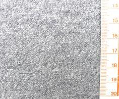 Wolle - 2,6 Meter hellgraue gewalkte Wolle - ein Designerstück von knopfelfe bei DaWanda