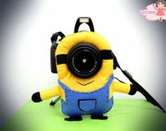 Acessório Câmera Fotográfica Minion