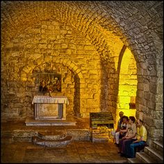 The Synagogue Church in Nazareth is believed to be the very place where Jesus delivered his famous sermon, where he declared himself as the Messiah to his village members…