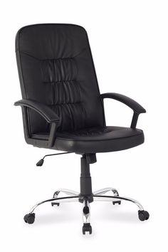 sillon para oficina ads ejecutivo modelo trani base cromada