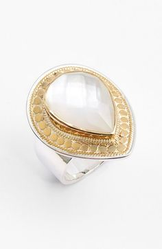 Anna Beck 'Gili' Teardrop Doublet Ring available at #Nordstrom