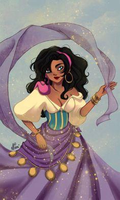 #disney #fanart - #esmeralda