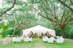 Andra + Matt // Elegant + Romantic Charleston Wedding at Legare Waring House Tent Wedding, Our Wedding, Wedding Venues, Wedding Ideas, Tent Reception, Romantic Weddings, Gazebo, Charleston Sc, How Are You Feeling