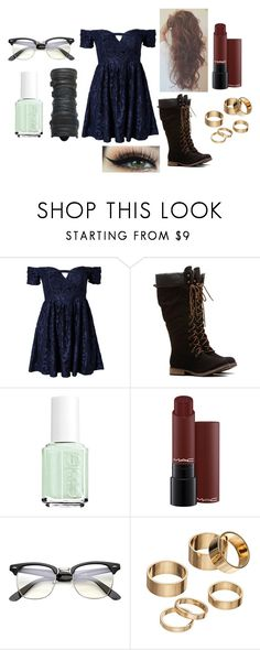 """Untitled #1064"" by pooka515 on Polyvore featuring Ginger Fizz, Essie and Apt. 9"