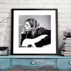 Kurt Cobain Classic Canvas Art Print Painting Poster Wall Pictures For Room Home Decoration Home Decor Silk Fabric No Frame. Yesterday's price: US $5.99 (4.94 EUR). Today's price: US $4.43 (3.65 EUR). Discount: 26%.