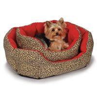 M. Isaac Mizrahi Leopard Nesting Dog Bed