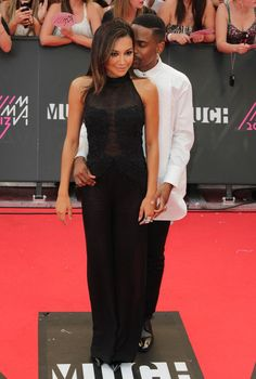 Big Sean And Naya Rivera Attend 2013 MuchMusic Awards