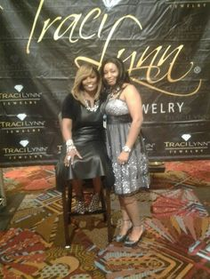 Dr Traci Lynn and Patricia Jenkins@ Hyatt Regency in Orlando,  Fl.