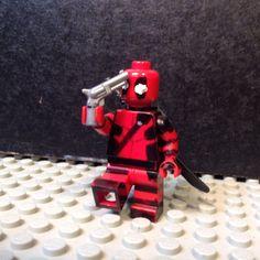Lego custom DEADPOOL!