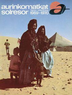 #Aurinkomatkat lomaopas talvi 1969-1970 #retro