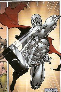 """super-nerd: """"Steel by Ed Benes """" Comic Book Heroes, Comic Books Art, Comic Art, Book Art, Superman Family, Batman Vs Superman, Hq Marvel, Marvel Dc Comics, Dc Comics Art"""