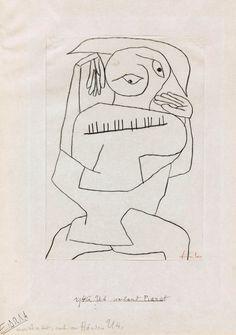 Paul Klee Pianist, 1940