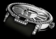 Roger Dubuis presents Velvet - Diamonds in white gold