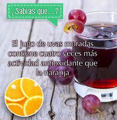 La #uva #morada es una #fruta #antioxidante. http://lemi.com.mx #salud #bienestar