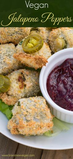 Want a healthier snack for the big game this year? Then you gotta try these Vegan Jalapeno Poppers! That's right, fresh Jalapenos stuffed with a dairy-free Cream Cheese and then air-fried to crispy perfection. Shared by Career Path Design. Healthy Vegan Snacks, Vegan Appetizers, Vegan Foods, Vegan Dishes, Vegan Vegetarian, Appetizer Recipes, Vegetarian Recipes, Healthy Eating, Healthy Recipes