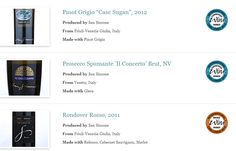"""San Simone, Prosecco Doc Brut """"Il Concerto"""" and Pinot Grigio """"Case Sugan"""" 2012 have won a special accolade, whereas Rondover Rosso has won a bronze medal at International Wine Challenge, London."""