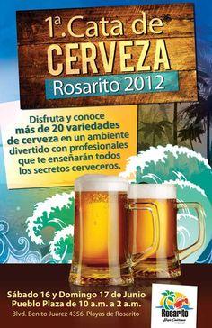 Rosarito Beach Baja California Mexico: 1er. Cata de Cerveza Rosarito Beer Tasting