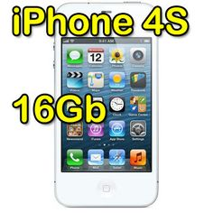 Apple iPhone 4S 16Gb Bianco MD239IP/A MD240J/A  299€