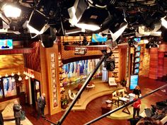 live with kelly and michael set - Google Search