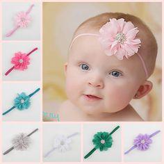 Childern Girl Small With Flower Rhinestone flower Baby Headband Bows Hair Band Hair Accessories Headwear♦️ SMS - F A S H I O N 💢👉🏿 http://www.sms.hr/products/childern-girl-small-with-flower-rhinestone-flower-baby-headband-bows-hair-band-hair-accessories-headwear/ US $0.95