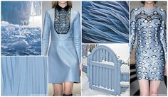 Top Color, Womens Market, F/W 2015-16: SKY. Sky is one of the most popular soft pastels this season set to both mid and bright tones.