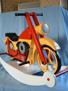 Wooden Motorcycle Project