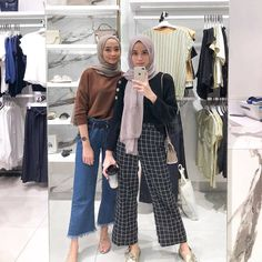 Modest Fashion Hijab, Modern Hijab Fashion, Street Hijab Fashion, Casual Hijab Outfit, Hijab Fashion Inspiration, Hijab Chic, Muslim Fashion, Minimal Fashion, Mode Hijab