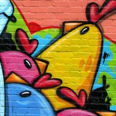 Angry Birds Brick Wall Graffiti iPad Air Wallpapers