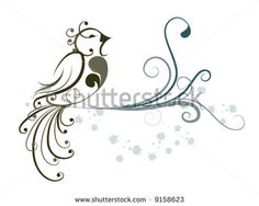Find bird vine stock images in HD and millions of other royalty-free stock photos, illustrations and vectors in the Shutterstock collection. Thousands of new, high-quality pictures added every day. Living Room Wall Designs, Bird Patterns, Bird Design, Vector Graphics, Painted Rocks, Vines, Royalty Free Stock Photos, Simple, Illustration