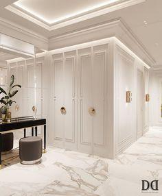 Home Room Design, Dream Home Design, Home Interior Design, Wardrobe Door Designs, Wardrobe Design Bedroom, Classic Interior, Luxury Interior, Dressing Room Design, Luxurious Bedrooms