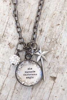 she spreads Christmas magic - $35.00 : Beth Quinn Designs , Romantic Inspirational Jewelry