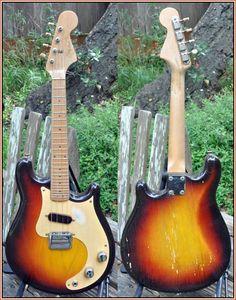 1958 Fender electric mandolin (mandocaster ----> mandocasterful)