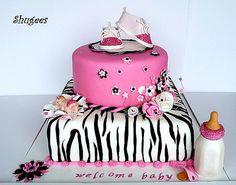 Sassy Baby Shower Cake..