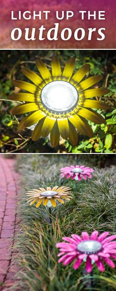 Light up any garden, pathway, planter, flower box and more with this powerful, p… – Solar light crafts Outdoor Art, Outdoor Gardens, Outdoor Lighting, Pathway Lighting, Backyard Lighting, Accent Lighting, Outdoor Ideas, Outdoor Decor, Garden Crafts