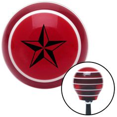 Black Tattoo Star Thin Red Stripe Shift Knob with M16 x 15 Insert - Give your interior the ultimate look. American Shifter's Elite(TM) series shift knobs are made from the highest quality components resulting in a superior feel on every shift. Each shift knob is designed and customized in the USA by skilled shift knob artisans who have a trained eye on every detail. American Shifters shift knobs offers an exclusive aluminum threaded insert designed to be screwed onto your shift arm. You…