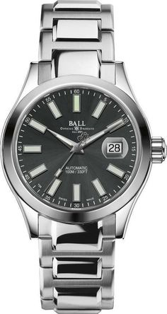 @ballwatchco  Engineer II Marvelight Grey #bezel-fixed #bracelet-strap-steel #brand-ball-watch-company #case-depth-13-15mm #case-material-steel #case-width-40mm #date-yes #delivery-timescale-1-2-weeks #dial-colour-grey #gender-mens #luxury #movement-automatic #official-stockist-for-ball-watch-company-watches #packaging-ball-watch-company-watch-packaging #style-dress #subcat-engineer-ii #supplier-model-no-nm2026c-s6j-gy #warranty-ball-watch-company-official-2-year-guarantee #water-resist...